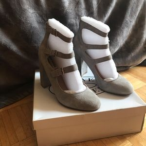 Steve Madden Light Grey Heels